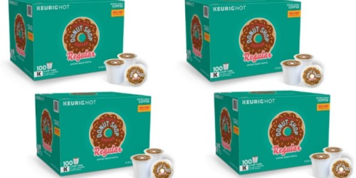 Jet.com: Donut Shop Regular 100 Count K-Cups Only $37.28 Shipped (Just 37¢ Per K-Cup)