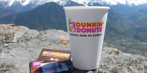Dunkin' Donuts: Free $3 Credit AND Beverage for 1st 10,000 NEW Customers to Join DD Perks Program