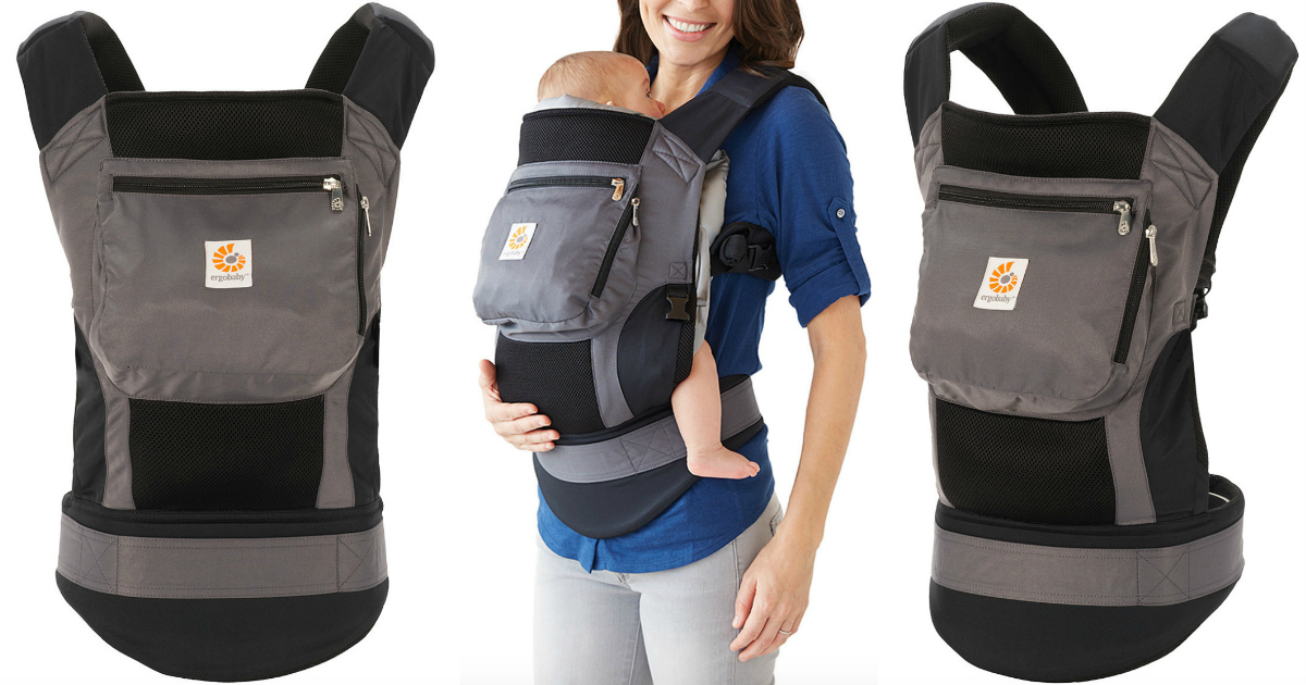 df8ba8f9186 Zulily  Ergobaby Performance 3-Position Baby Carrier ONLY  64.99 (Regularly   140) - Hip2Save