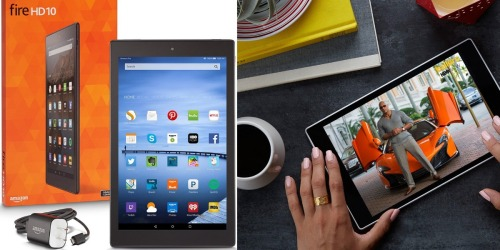 Amazon: $50 Off Fire HD 10 Tablets = Fire HD 10 Tablet 16 GB Only $179.99 Shipped (Reg. $229.99)