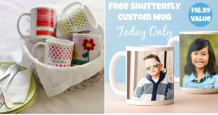 Free Shutterfly Mug