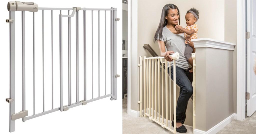 Evenflo Gate: Amazon Warehouse: Evenflo Easy Walk Thru Gate Under $20