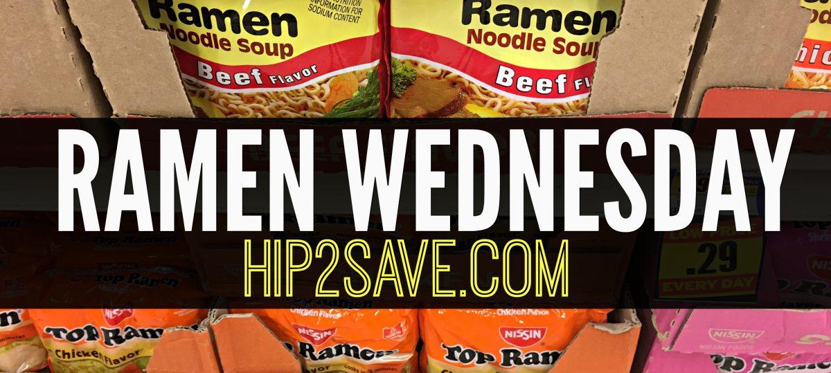 Hip2Save.com Ramen Wednesday
