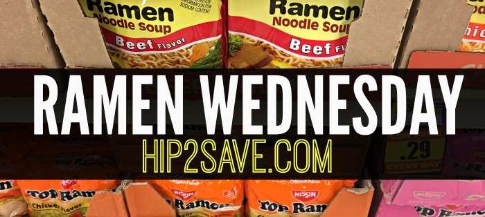 Hip2Save.com Ramen Wednesday