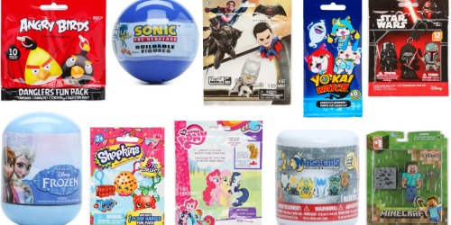 Collectible Toys in Mystery Bags Starting at $2 (My Little Pony, Minecraft, Star Wars & More)