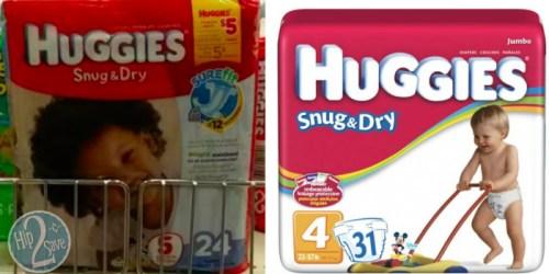 Target: Huggies Diapers Jumbo Packs As Low As $4.39