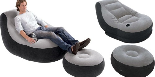 Kmart: Intex Inflatable Chair w/ Ottoman $14.79 After Points (Buy 2 to Score Free Shipping)