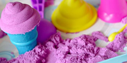 Kinetic Sand 2-Pound Bags Just $5.99 on Michaels.com