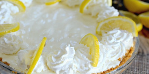 Frozen Lemonade Pie Recipe