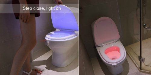 Amazon: Motion Activated Toilet Nightlight Only $10.99 (Regularly $25.99)