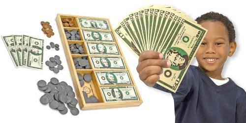 Amazon: Melissa & Doug Play Money Set Only $12.99 (Regularly $19.99)