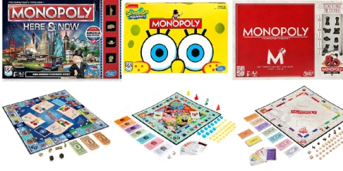 ToysRUs Weekend Sale: Monopoly Games ONLY $7 + Nice Buys on Playmobil, Imaginext & More