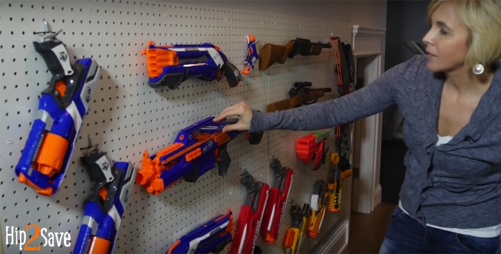 nerf wall