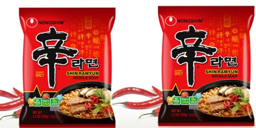 Nongshim Shin Ramyun Noodle Soup 20-Pack Just $16.47 Shipped at Amazon (Only 82¢ Each)