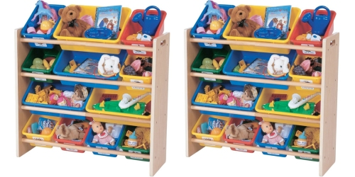 Amazon: Tot Tutors Primary Colors Toy Organizer With Storage Bins Only $35.99