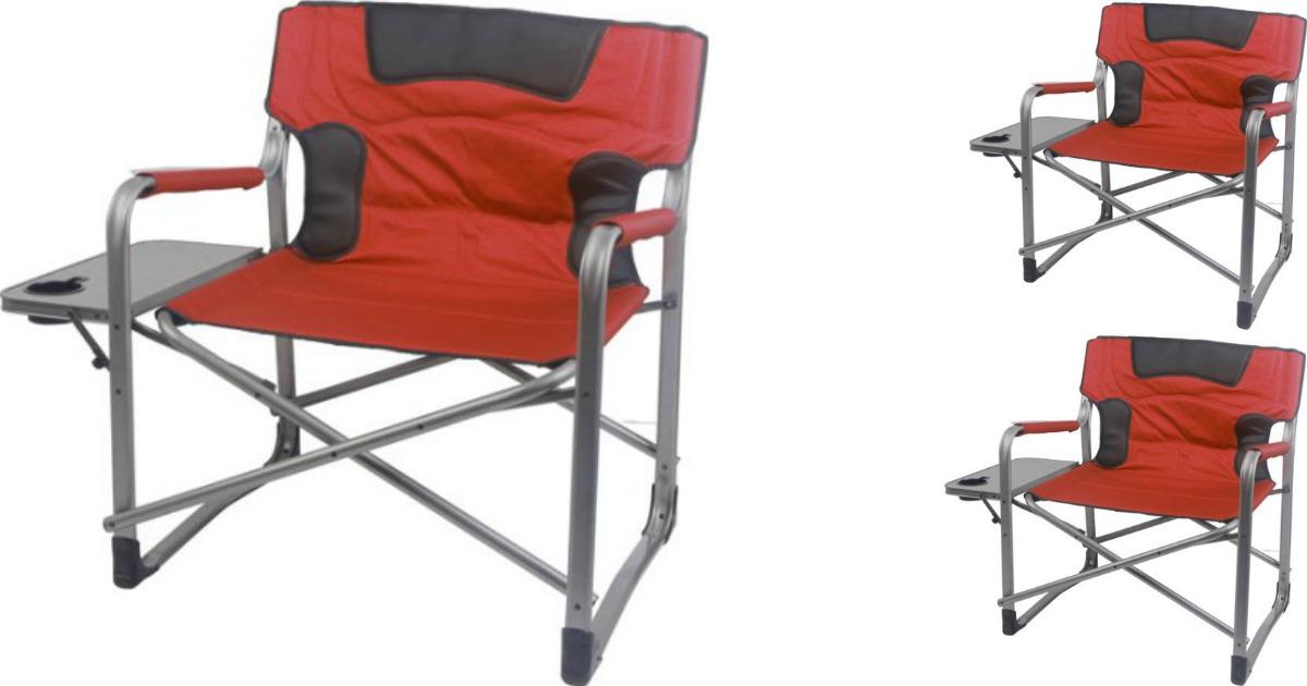 Surprising Walmart Ozark Xxl Director Chair Only 39 Features Home Interior And Landscaping Sapresignezvosmurscom