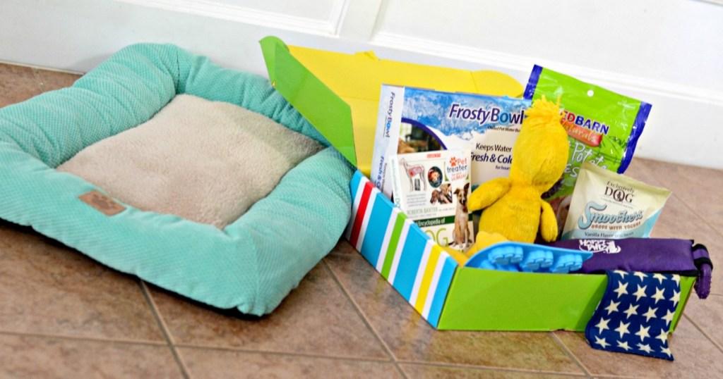 Pet Bed & Pet Treater Box