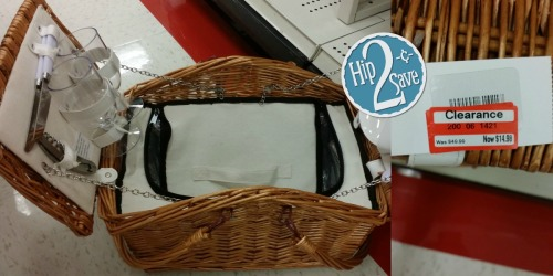 Target Clearance: Willow Picnic Basket Set Possibly Only $14.98 (Regularly $49.99)