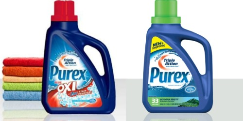 Walgreens: Purex Laundry Detergent Only 99¢ (7/31 Only)