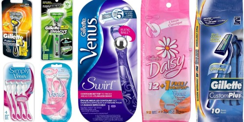 EIGHT New Gillette & Venus Razor Coupons Available to Print