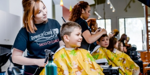 Remington College: Free Hair Cut for Kids in August (+ Donate School Supply = Free Manicure & More)