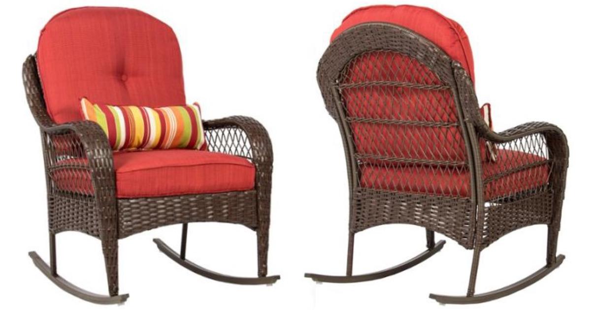 Walmart: Wicker Rocking Chair Only $119.95 Shipped (Reg ...