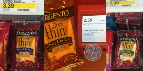 Target: Sargento Sliced Cheese Only $1.80