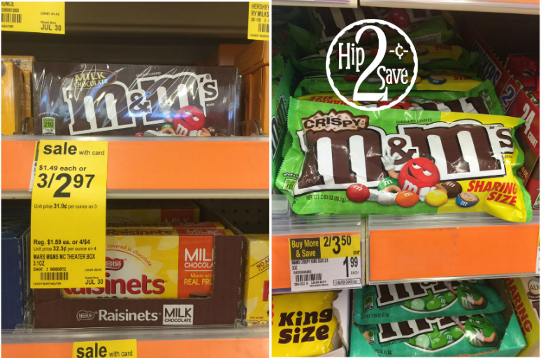 Walgreens M&M's Candy Deal