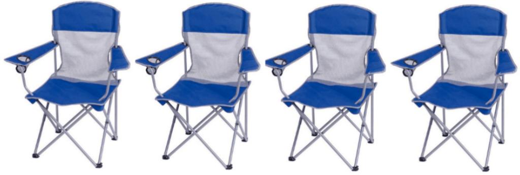 Ozark Trail Mesh Chairs