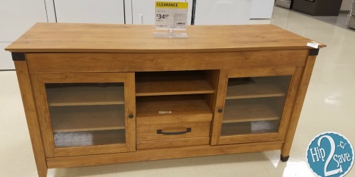 Sears & Kmart Reader Clearance Finds: TV Credenza Just $34.97 (Reg. $477) + More