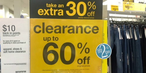 Sears: $10 Back in SYWR Points for Every $10 Spent (+ Extra 30% Off Already-Reduced Clearance!)