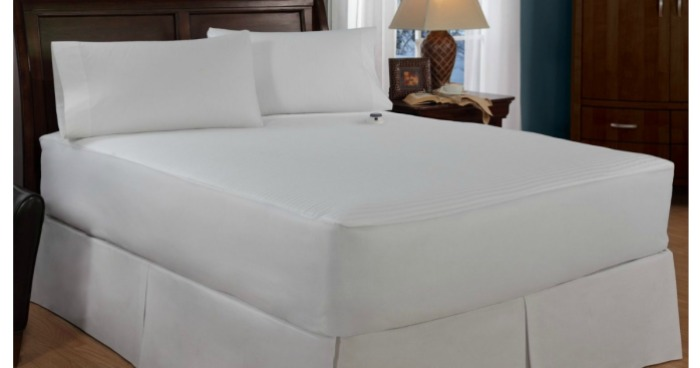 Amazon Serta Queen Electric Heated Mattress Pad Only 18 91 Best