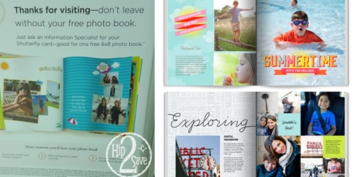 Shutterfly: Possible FREE 8×8 Photo Book at State Welcome Centers (Reader Find)