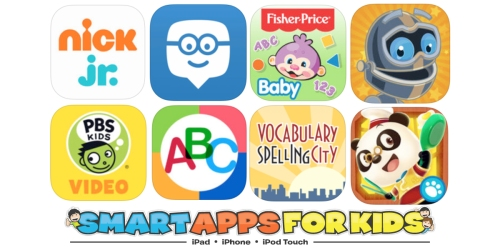 Smart Apps For Kids: 50 FREE Educational Apps
