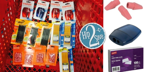How Does 14 School Supplies for ONLY $2 at Staples Sound?!