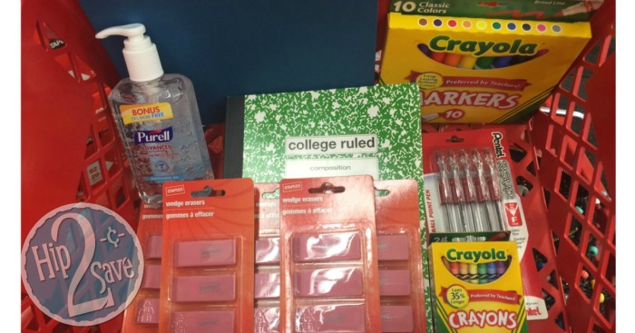 Staples: Score 12 Back To School Supplies ✏️ For $5