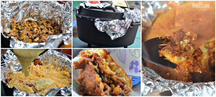 Tamale Pie Dutch Oven Meal