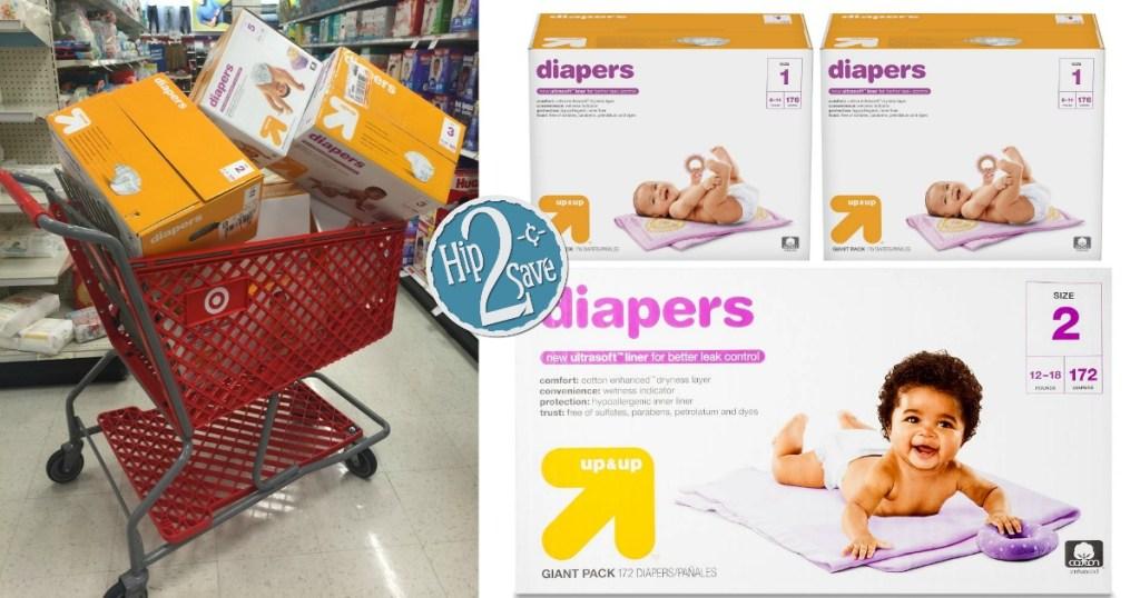 Target Cartwheel Diaper Deal Ending Today
