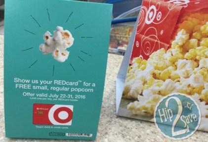 Target Popcorn offer