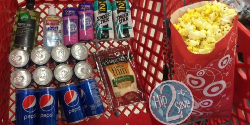 Score 13 Items For Around $10 at Target (Save On Speed Stick, Pepsi, Sargento & More)