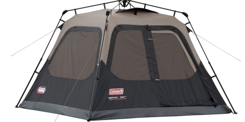 Walmart: Coleman Instant Set-Up 4 Person Tent ONLY $79 (Regularly $128)
