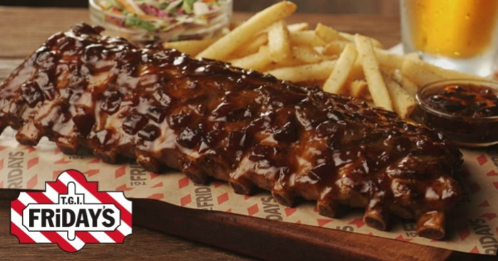 TGI Friday's Ribs