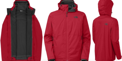 The North Face Men's Arrowood Triclimate Jacket in Red Only $119.37 Shipped (Reg. $198.95)