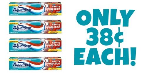 Target: Aquafresh Toothpaste ONLY 38¢