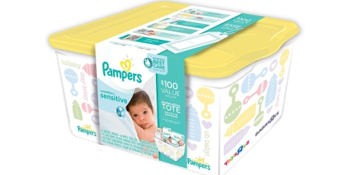 Pampers Diaper Tote $29.99 Shipped (Over $80 Value) – Includes Diapers, Wipes, Coupons & More