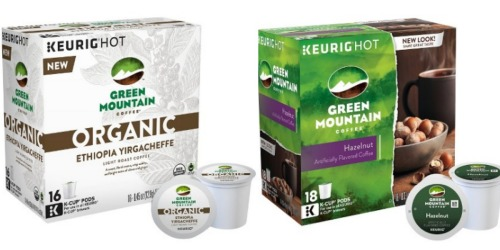 Target: Green Mountain K-Cups Only 33¢ Each (After Gift Card)
