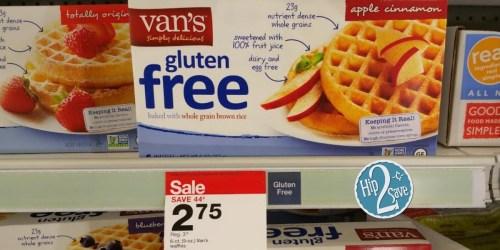 Target: FREE Van's Gluten-Free Waffles (After Ibotta Rebate)