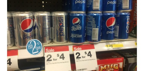 Target: Pepsi Mini Can 8-Packs Only $1.50