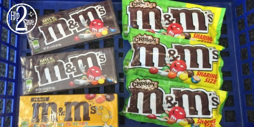 Walgreens: SIX Packages of  M&M's Candies ONLY $2.97 (Just 50¢ Each)