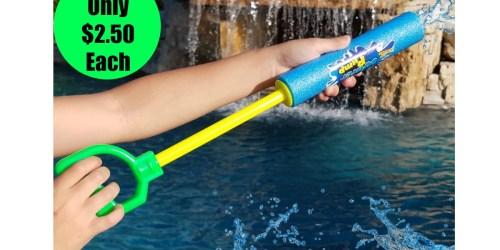 Foam Water Blasters Only $2.50 Each Shipped